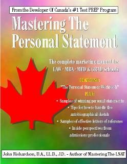 Mastering The Personal Statement